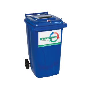 Archief container voor archiefvernietiging - 240 liter