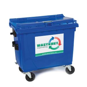 Archief container voor archiefvernietiging - 660 liter